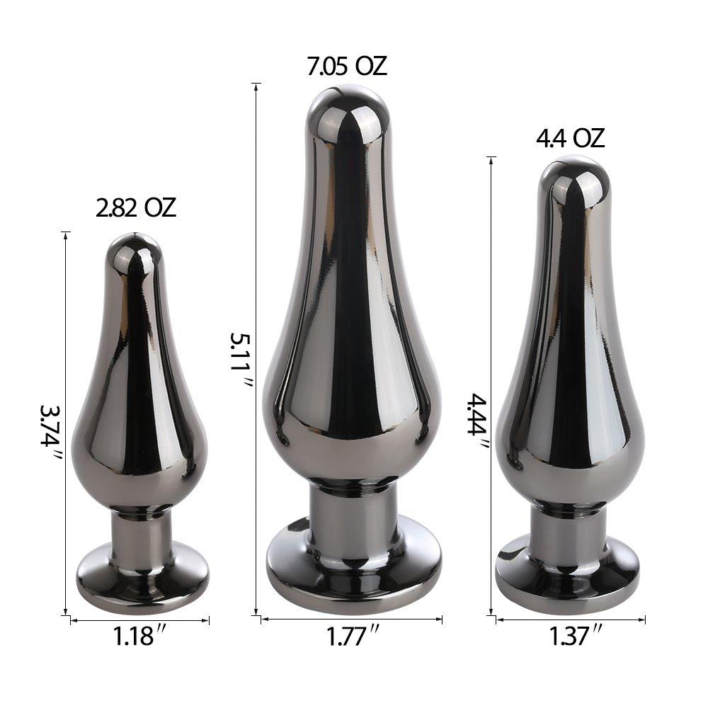 Steel Anal Butt Plugs