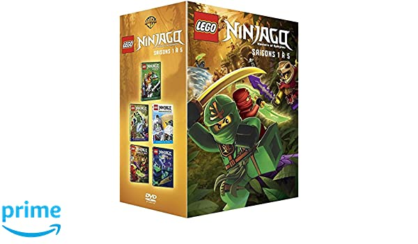LEGO Ninjago, Les maîtres du Spinjitzu - Saisons 1 à 5 ...