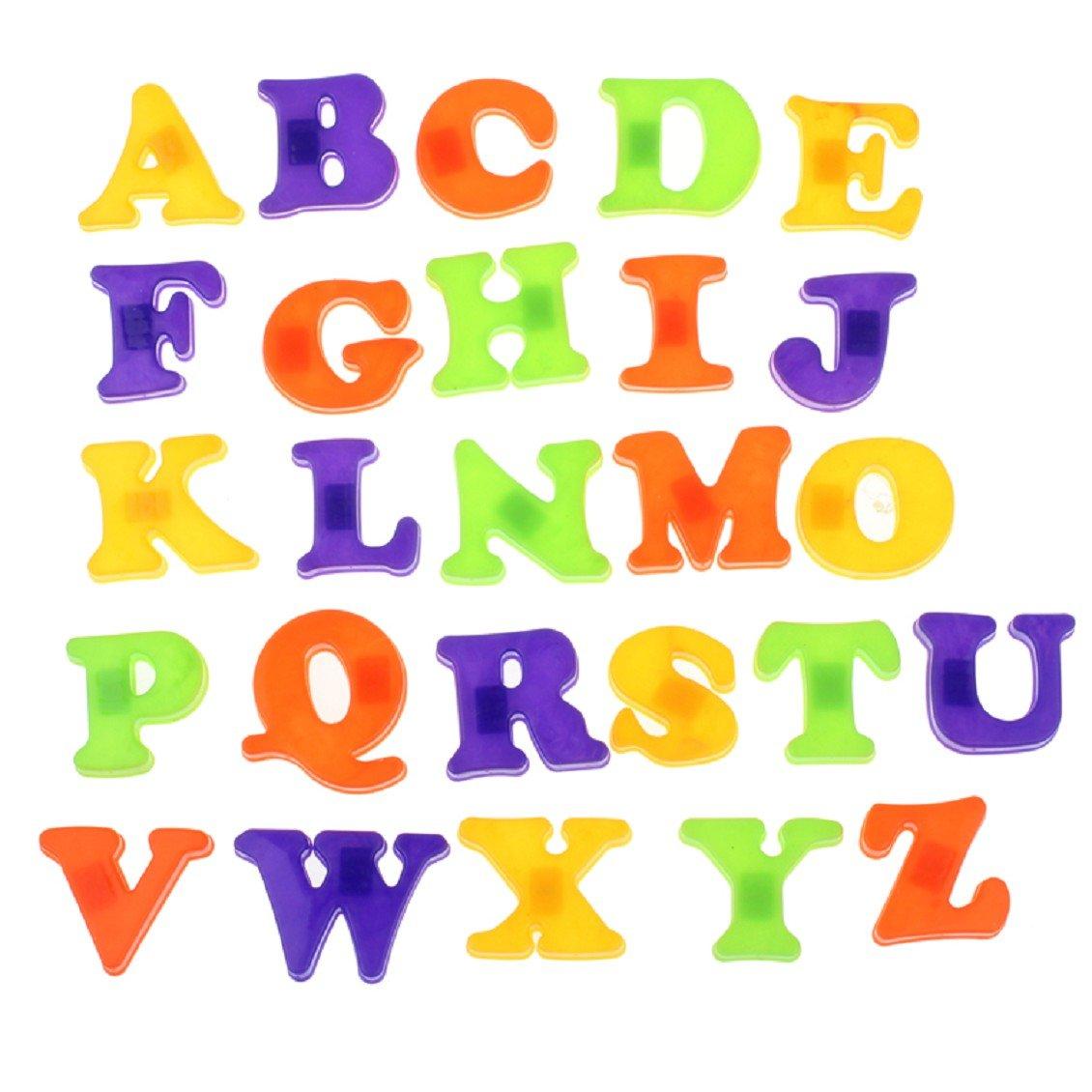 Jouets pour bébé,Transer® Frigo Magnet A-Z enseignement 26 lettres pour enfants Transer® Frigo Magnet A-Z enseignement 26 lettres pour enfants 65942