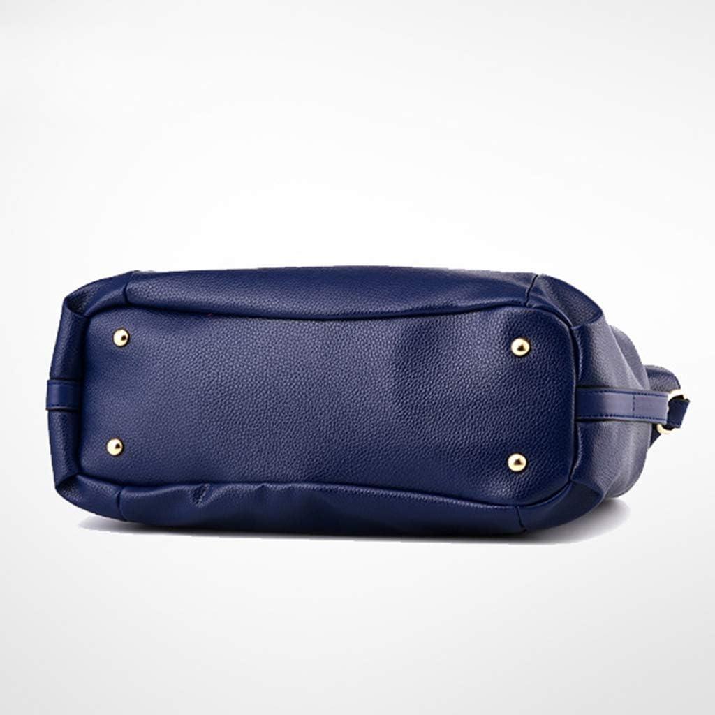 RK-HYTQWR New Ladies Classic Casual Fashion Soft Pu Bag Donna Donna Borsa a Tracolla a Tracolla, Borsa a Tracolla Marrone