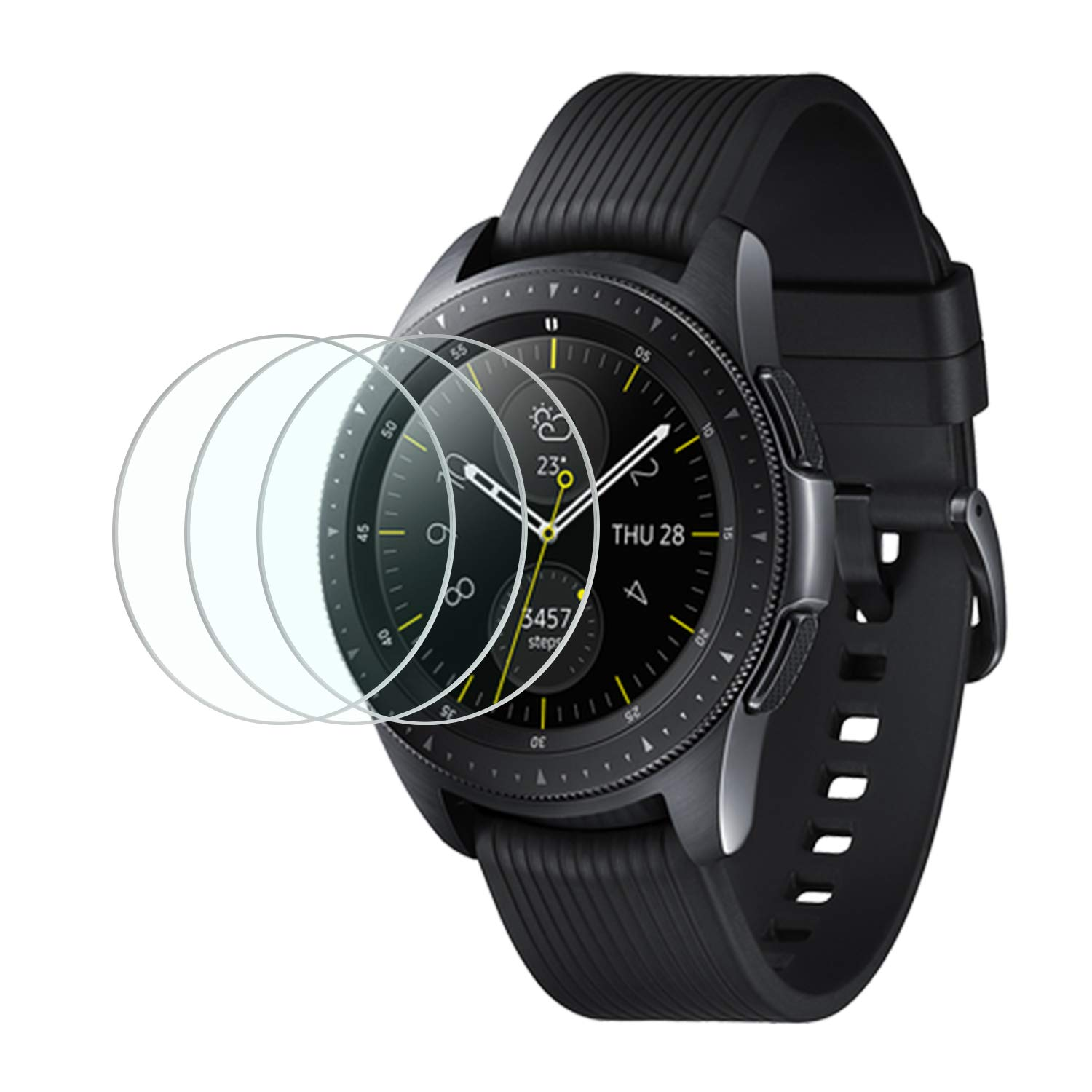Vidrio Protector para Galaxy Watch 42mm x3 MENEEA -7GFCJCBV