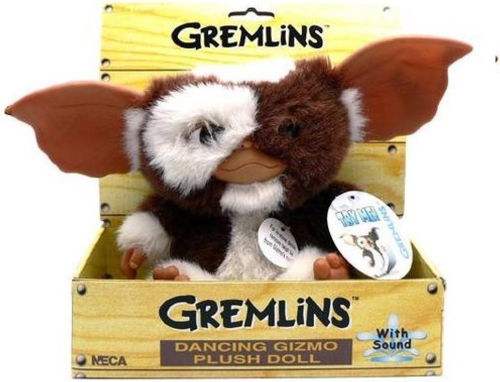 Desconocido Gremlins - Gizmo Peluche bailarín, 20 cm (NECA NEC0NC30630)- Dancing Peluche Gizmo, Multicolor