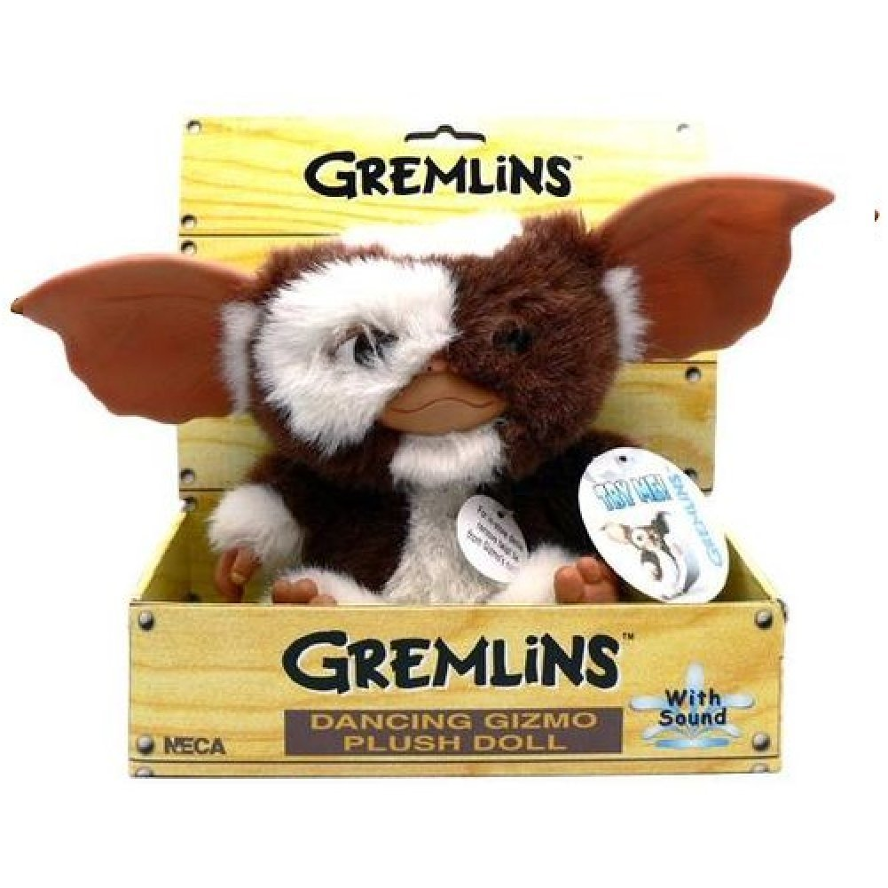 NECA - Gremlins Electronic Dancing Plush Doll Gizmo, Measures 8' Tall Measures 8 Tall 634482306307