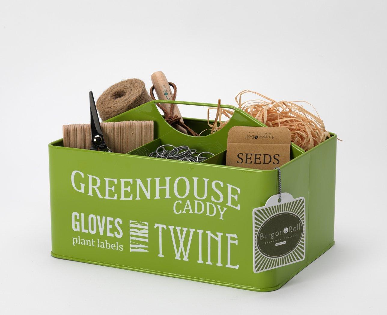 Burgon & Ball GYO/CADDY Greenhouse Caddy - Lime Green G0174