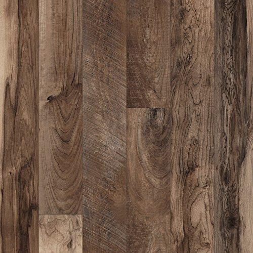 Mannington Laminate Flooring (Mannington 22302 (S) Restoration Collection Chateau Laminate Flooring, 12Mm, Dusk)