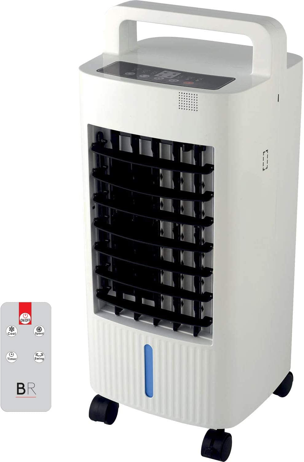 CaribbeanBlue New Room Refresher Air Cooler with 6.0L Evaporative Water Fan Environment Friendly Consumes 70w Evaporative Cooler Cooling for your Home and Office