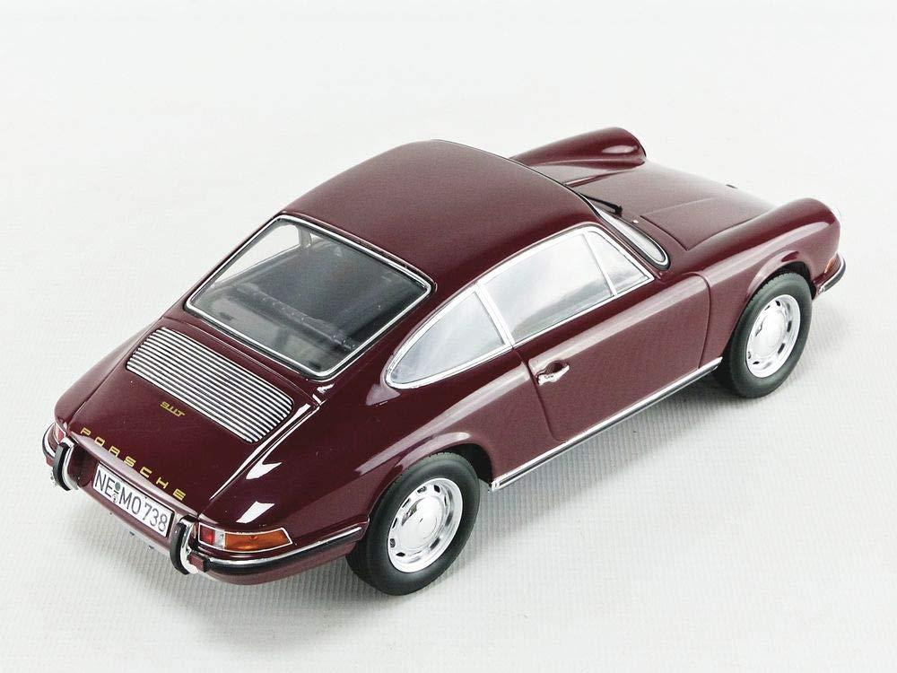 Amazon.com: 1969 Porsche 911 T Dark Red 1/18 Diecast Model Car Norev 187630: Toys & Games