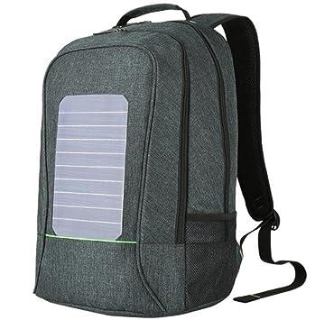 SHIQUNC Mochila Solar Mochila de Senderismo con energía ...