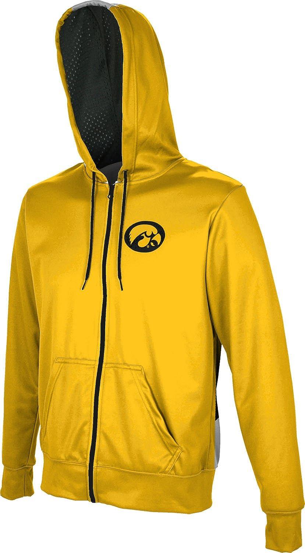 ProSphere University of Iowa Mens Full Zip Hoodie Secondskin
