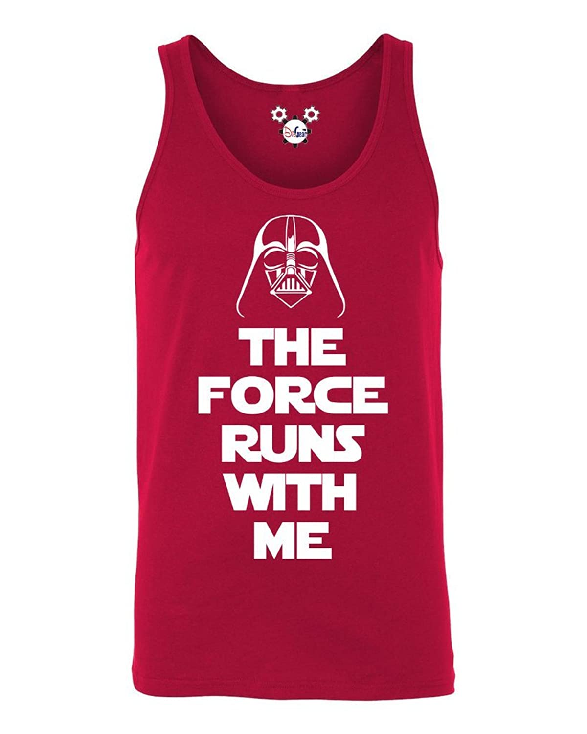 Cheap DisGear Star Wars The Force Runs with Me Graphic Men's Tank