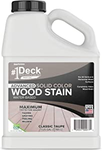 #1 Deck Advanced Solid Color Deck Stain and Sealer