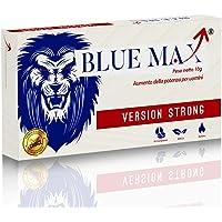 Blue Max® - Strong Da 130 Milligrammi - Alterazione Dei Livelli Di Testosterone - Booster Naturale Anche Per Giovani Per Risultati Eccellenti - 10 Pillole