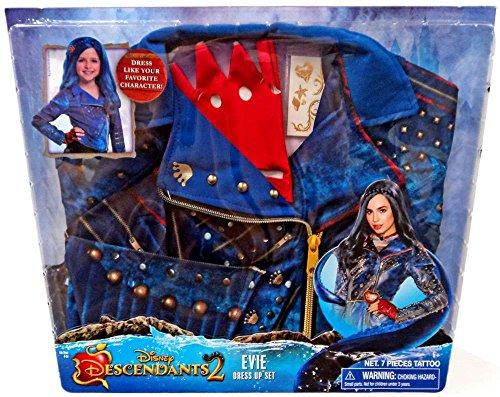 Evie Costume Disney (Disney Descendants 2 Boxed Dress Up Set (Evie))