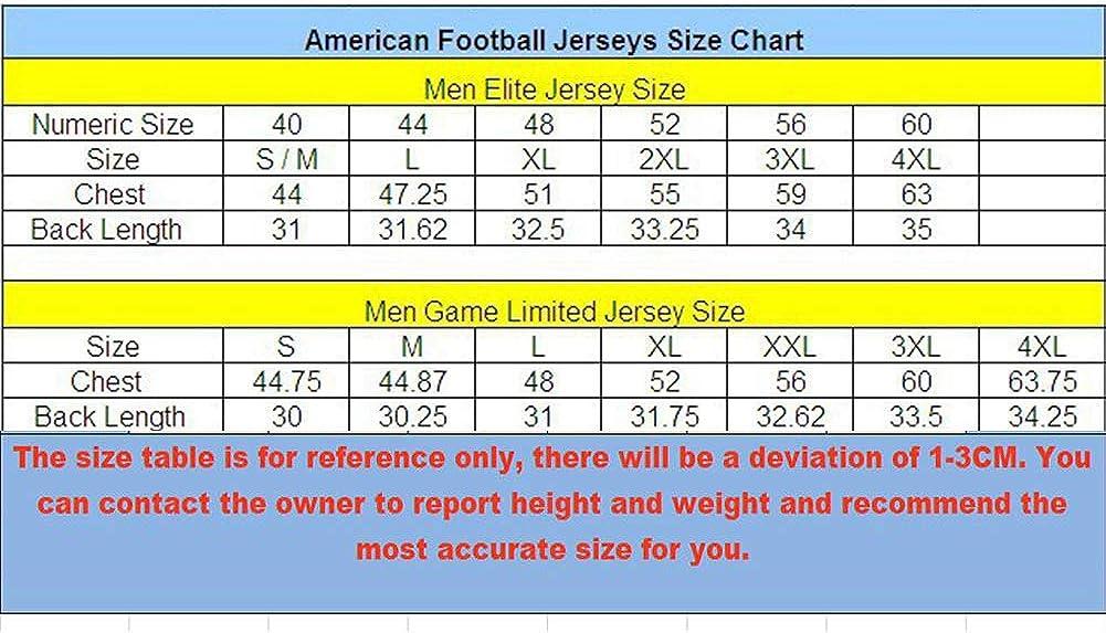 Herren-T-Shirt American Football-Uniform Jugendtrainingsuniform Wettbewerbsuniform Schwarzgold S-3xl Los Angeles Rams Jared Goff # 16 Rugby-Trikot