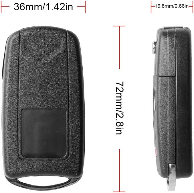 VOFONO Keyless Entry Remote Key Fob Compatible with 2007 2008 2009 2010 2011 2012 2013 Acura MDX RDX