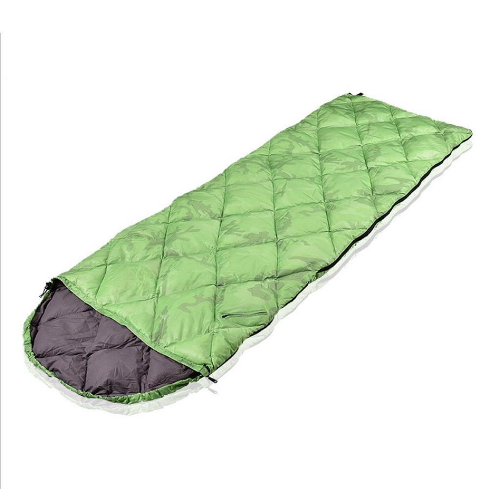 Außen Umschlag ultraleichte Daunenschlafsack für Erwachsene Frühjahr Herbst für Camping