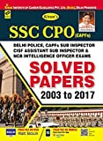 SSC CPO (CAPFS) Solved Papers 2003 to 2017 - 2099