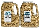 Harmony House Foods, Textured Soy Flour, Plain (40 Oz Gallon Size Jug) - Set of 2