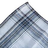 Pointed Designs Handkerchief Men Cotton Woven