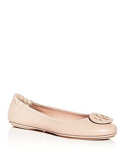 0bbdaff6708fa Tory Burch Minnie Leather Travel Ballet Flats