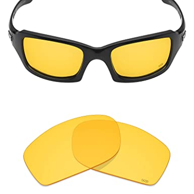 42dc238aed880 Mryok+ Polarized Replacement Lenses for Oakley Fives Squared - HD Yellow