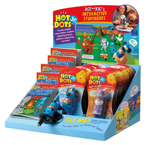 Educational Insights Hot Dots Jr. Interactive Storybooks Classpack of 24 by Educational Insights
