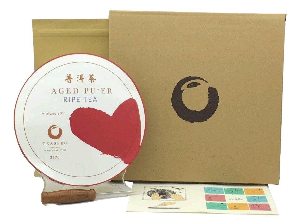 TEASPEC Pu'er Tea Cake Ripe, Exotic Tea Grown in China by TEASPEC