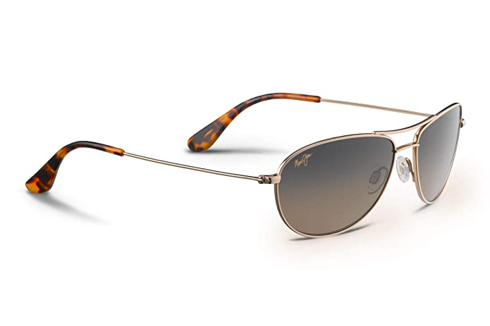 Amazon.com: Maui Jim Baby Beach gafas de sol, Dorado, talla ...
