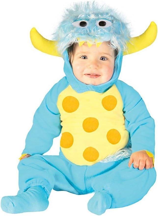 Disfraz de Monstruo (Talla 1-12 meses): Amazon.es: Juguetes y juegos