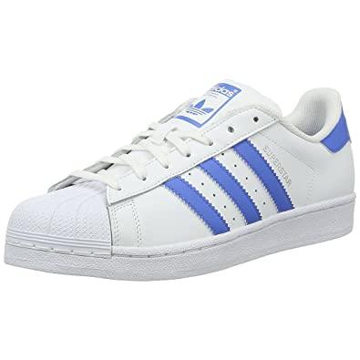 mens adidas superstar blue