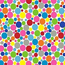 SheetWorld Fitted Oval Crib Sheet (Stokke Sleepi) - Primary Colorful Mini Dots - Made In USA - 26 inches x 47 inches (66 cm x 119.4 cm)
