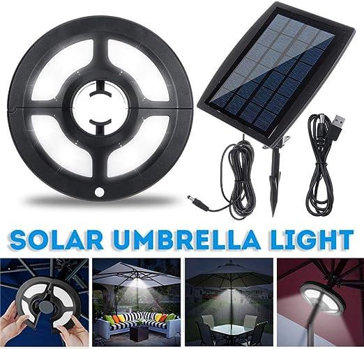 LED Jardin Lampe parapluie parasol Lampe avec 36 LED
