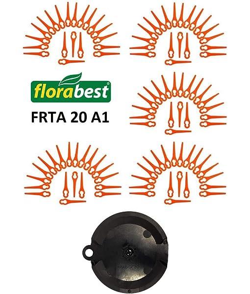 Set 100 cutting blade Florabest Trimmer FRTA 20 A1 IAN 282232