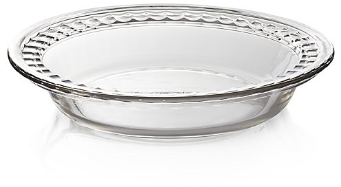 Deep Glass Pie Dish | Crate and Barrel