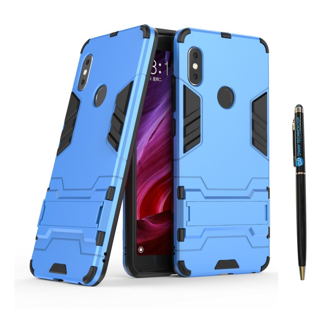 Redmi Note 5 Pro Armor Case Dwaybox 2 In 1 Heavy Duty Xiaomi Kickstand Series For Hard Back Cover With 599