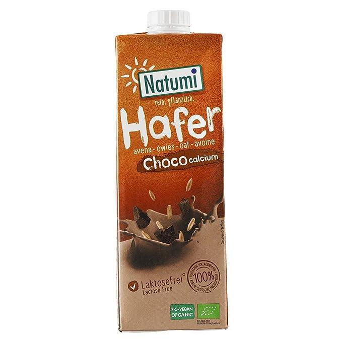 IJSALUT - Leche Avena Choco Calci Bio 1L Natumi 1 Litro