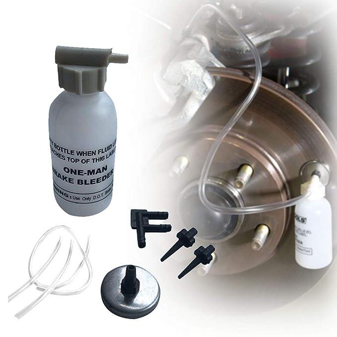 Amazon.com: Kit de purgador de frenos de botella de purga de ...