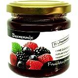 """Xylit Fruchtaufstrich """"Beerenmix"""" ohne Zuckerzusatz, nur mit Xylit gesüßt, 75% Fruchtanteil (mehr als Marmeladen), Low Carb, 190 g"""