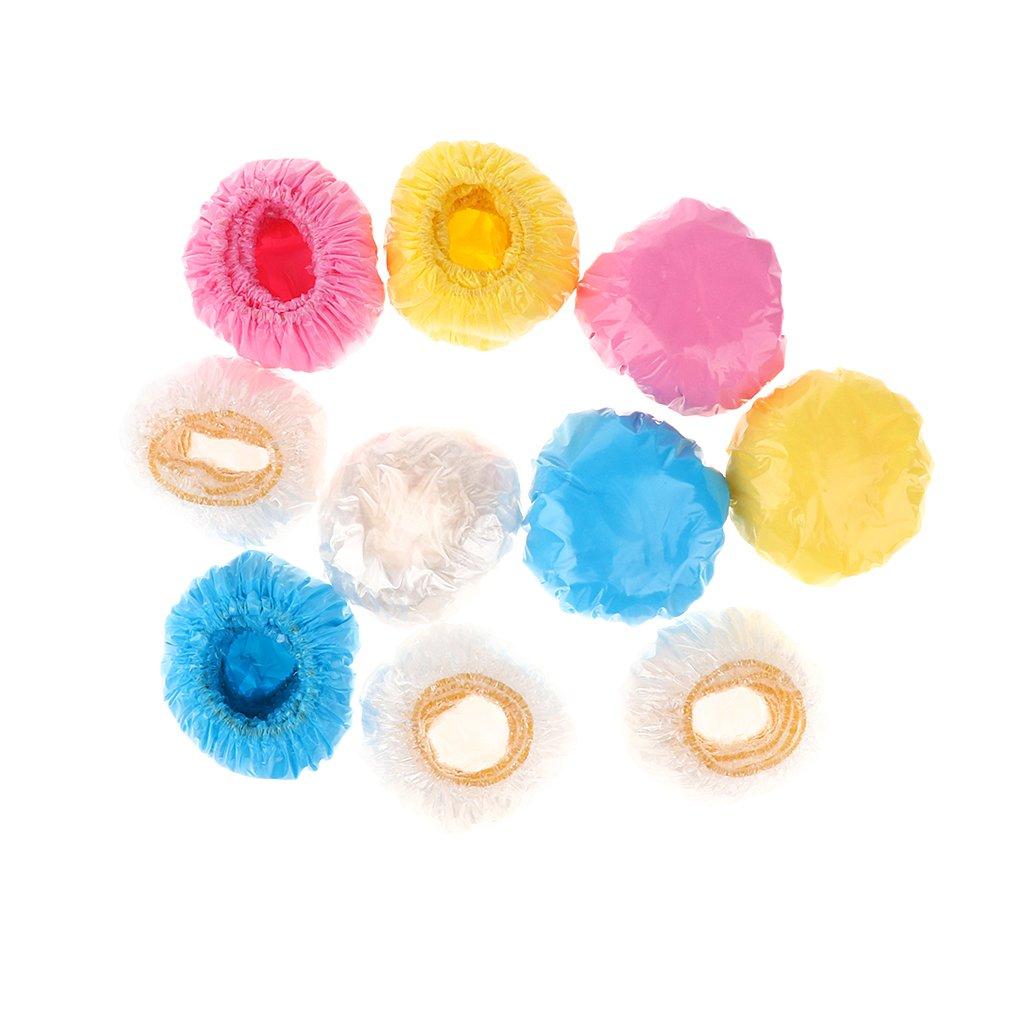 Homyl 100 Pcs Cuffie da Bagno Copri Doccia Morbido Accessori Bambini Plastica