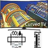 Samsung UN55KU6500 – Curved 55-Inch 4K Ultra HD LED Smart TV w/ Slim