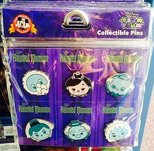 (2016 Disney Parks Haunted Mansion Tsum Tsum Pin Set)