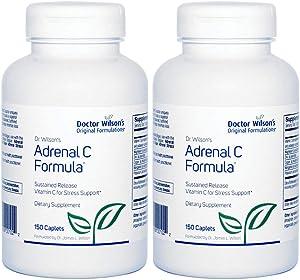 2-Pack Doctor Wilson's Original Formulations Adrenal C Formula 150 caplets