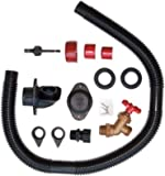 EarthMinded DIY Rain Barrel Diverter and Parts Kit - Water Collection System To Convert Containers into Rain Barrels…