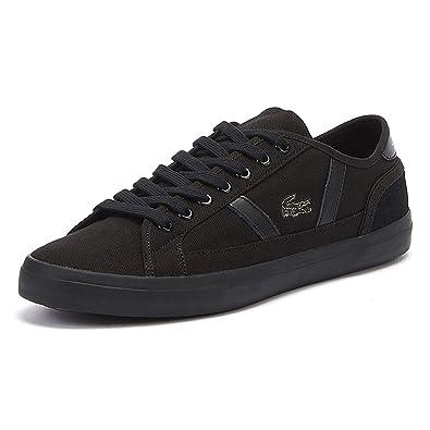 cecaa37a6e31 Lacoste Sideline 119 1 Mens Black Sneakers-UK 6   EU 39.5