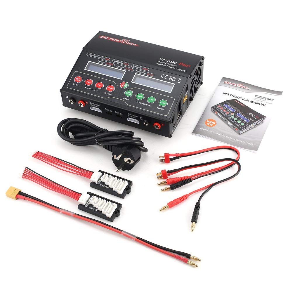 FDBF Ultra Power UP120AC Duo 110V 220V Balancing Charger for Lilo LiPo Life LiHV