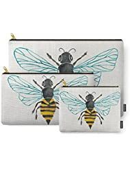 Society6 Honey Bee Carry-All Pouch