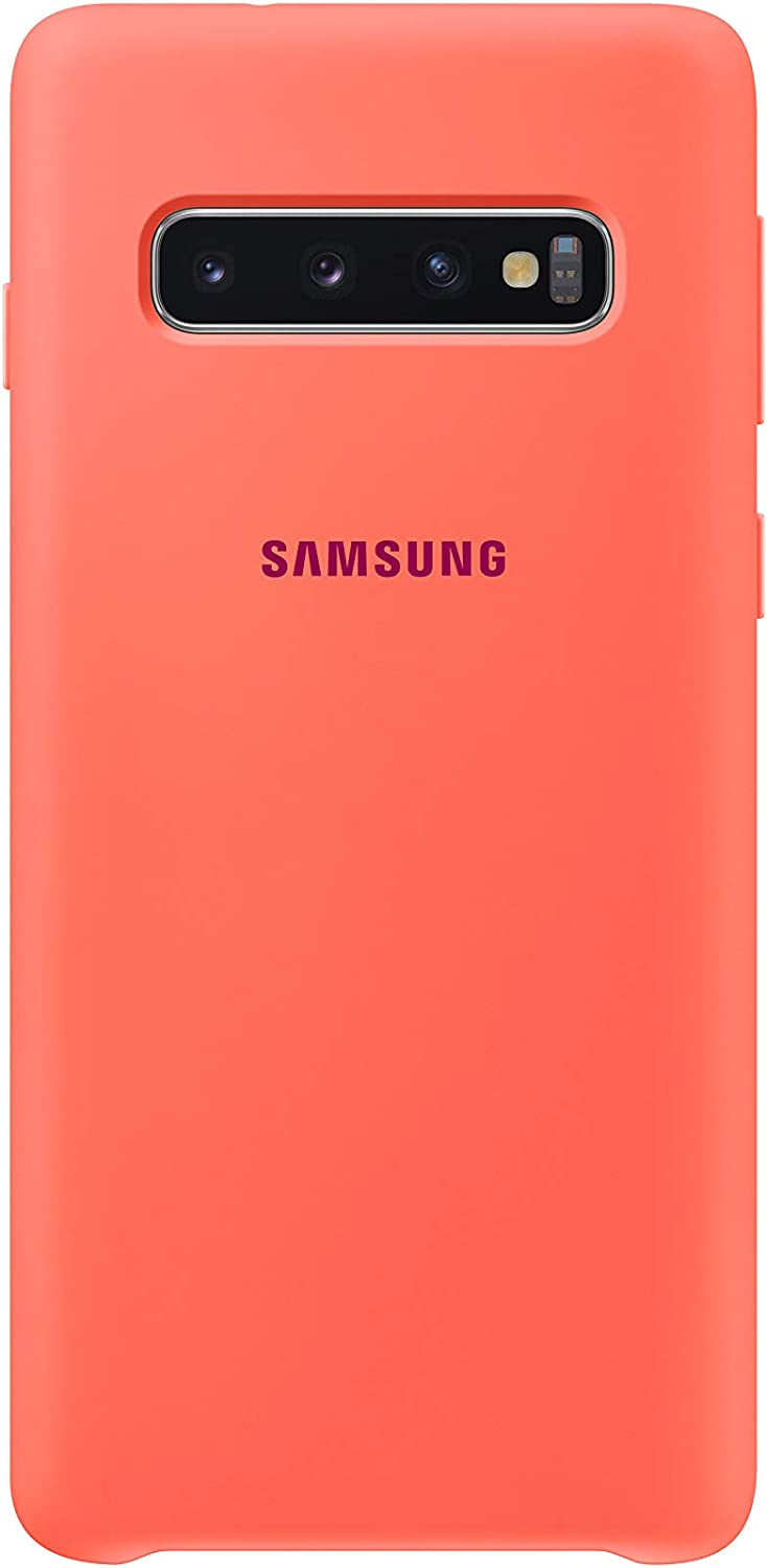 Silicone Cover Für Galaxy S10 Berry Pink Elektronik