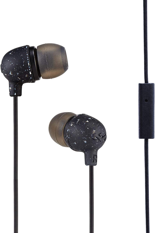 House of Marley EM-JE061-BK - Pinganillos con Control de micrófono Incorporado, Color Negro