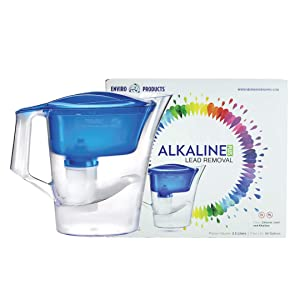 New Wave Enviro Alkaline Water Filter Pitcher Plus