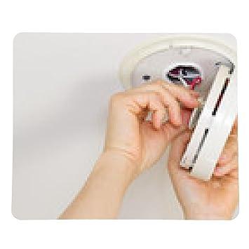 alfombrilla de ratón Efectuar el mantenimiento en Dectector Inicio de humo: Amazon.es: Electrónica